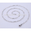 Простой дизайн ювелирные изделия ожерелье из нержавеющей стали цепи для леди BSL004-1
