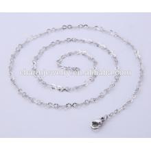 Einfache Design Schmuck Halskette Edelstahl Kette für Lady BSL004-1