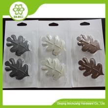 Tipos decorativos de ganchos de cortinas de flores de metal decorativo, retenção de cortinas
