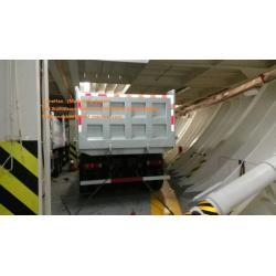 Ghana white dump truck of HOWO7 Sinotruk