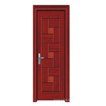 Porta de madeira maciça de alta qualidade de alta qualidade com design de moda (SW-804)