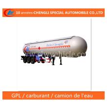 30t LPG Tank Semi Trailer 59.52cbm LPG Delivery Trailer for Nigeria