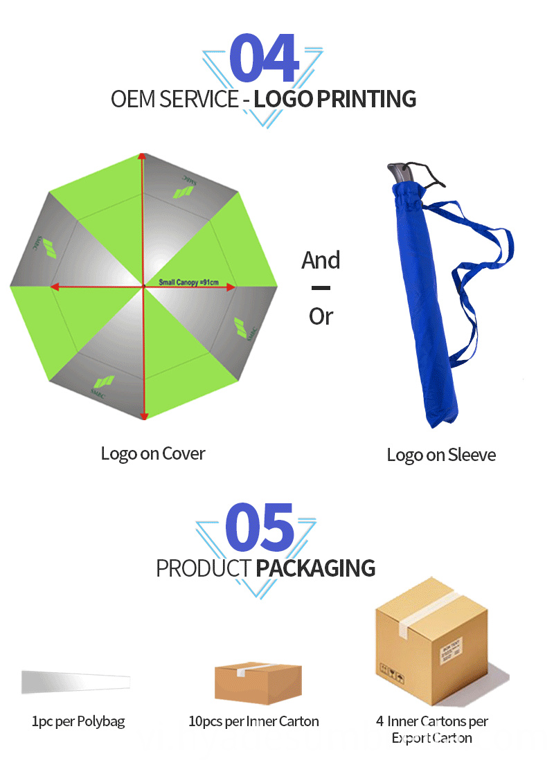 2 Folding Umbrella Promotional And Advertising