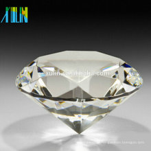 Decoração de cristal da casa do casamento do Paperweight da jóia do vidro de corte do diamante