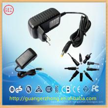 Adaptador de energia de 100-240v ac 18v 500ma