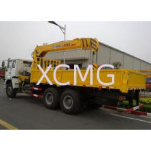 10T XCMG Mobile Telescopic Boom Truck Crane With Wire Rope