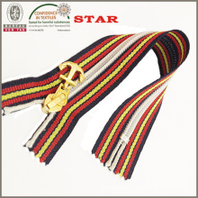 Fancy Slider Colorful Tape Nylon Zipper (# 5)