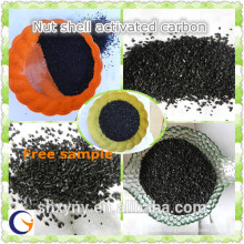 Factory supply granular nut shell ranular activated carbon with low price per ton for water deodorization