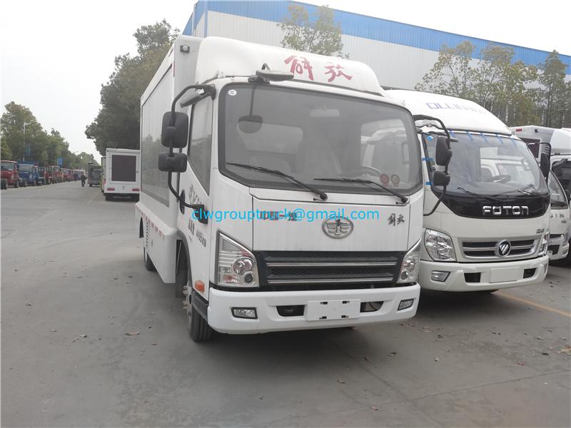 Advertisement Truck 4