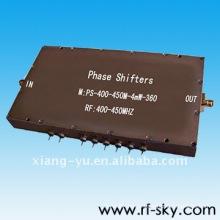 400-450MHz 4mW bronze folheado a níquel deslocadores de fase