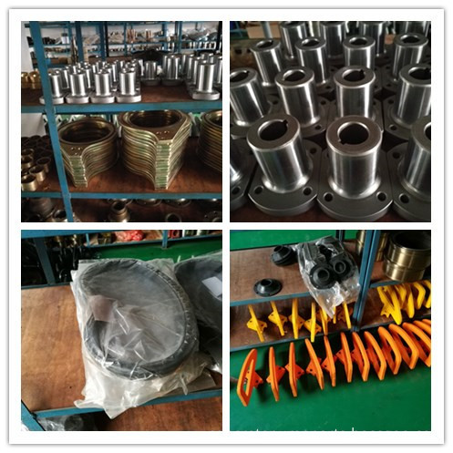 concrete pump spare parts warehouse