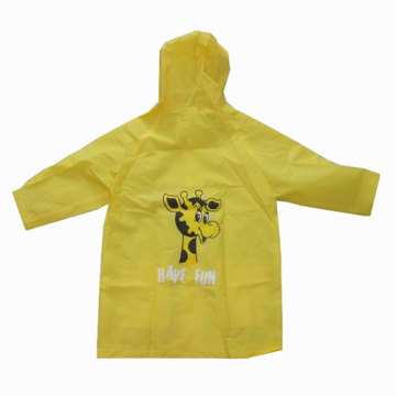 EVA Raincoat with Giraffe Charm