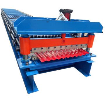 Panel corrugado para techos que forma la máquina