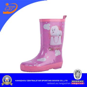 Botas de lluvia para niños coloridos de muestra gratis (68057)