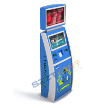 Zt2188 Card Dispenser / Bill Payment / Interactive Information Kiosk With Dual Screen