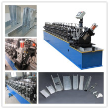 Logam Drywall CW UW Sheet Roll Forming Machine Harga Dinding CU Channel Membuat Mesin