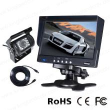 Système de caméra de sauvegarde du moniteur LCD TFT 7 pouces