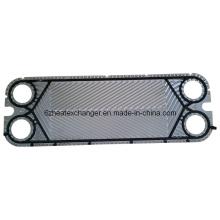 Placas y juntas de componentes de placa plana de intercambiador de calor