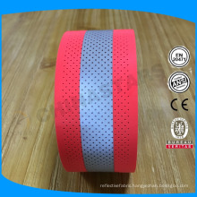 China 5*2cm or oem sizes perforated 100% aramid fr reflective tape