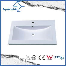 Artificial Marble Square Bathroom Vanity Sink Acb0803