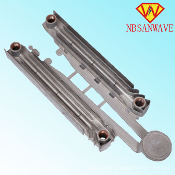 Readiator d'appareils de chauffage en aluminium