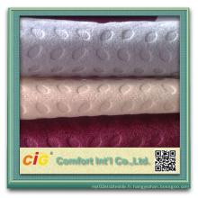 Tissu d'impression en tissu de voiture en Arabie Saoudite Tissu d'habillement en tissu Jacuqard