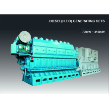700kw-4180kw Including Purifying Googol Crude Oil Generator