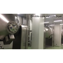 Stainless Steel Double Conical Rotary Vacuum Dryer