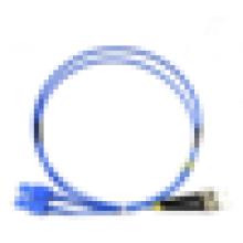 OM3 OM4 LSZH Corning FTTH SC PC à ST blindé Cordon de raccordement à fibre optique / câble de jarret