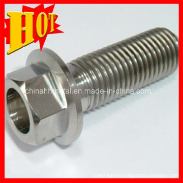 Gr5 Titanium Hex Flange Bolts with Best Price