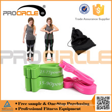 Procircle Latex Rubber Power Resistance Bandas Atacado