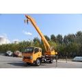 JAC 4x2 6.3 tons straight arm truck with crane