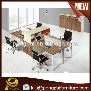 Four seater high quality modern working partition design