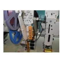 Máquina de bordar automatizada mixta Flat + Taping con 6 cabezales