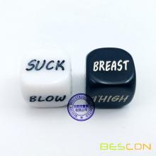 Funny Dice Love Dice Sex Dice Erotic Dice Love Game Toy Sweetheart Couple Gift for Bachelor Party