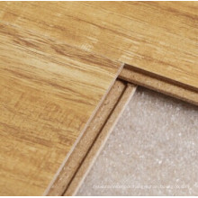 12mm Crystal Finish Wild Walnut Square Edges Laminated Floor