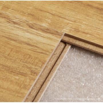 12 мм Кристалл отделка диким квадратными краями орех ламинированный Пол