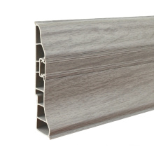 P95-A, RAITTO Hot Selling Rubber Skirting Board with PVC Strip