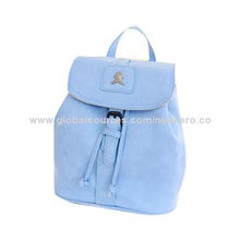Trendy Blue Little Bear School Backpacks, Suitable for Young Girls, Available in Various Colors