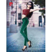 PIERRE CARDIN VELVET WOMEN PANTS LEGGINGS