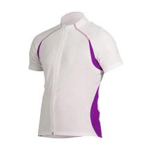 Team Cycling Jersey pour les hommes à manches courtes