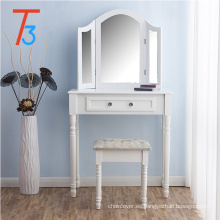 Silla de alta calidad de madera del tocador del tocador del dormitorio