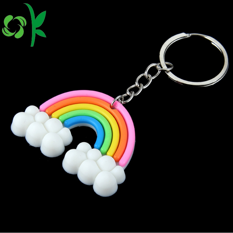 Rainbow Shape Keyring