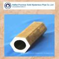 Cold Drawn ASTM A519 Tubo de aço sem costura HEX Forma externa