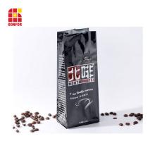 Sac de café 250g imprimé avec valve à air