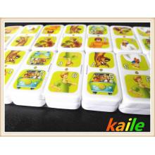 Garfield Coloré Domino Dans Boîte Métallique