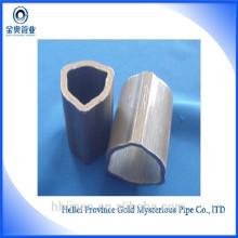 Tubo exterior tubo de aço triangular trançado de 20-60mm para peça de máquina agrícola