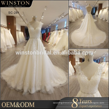 High end china factory direct wholesale lace wedding dress patterns