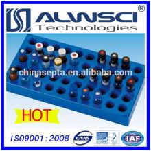 Compartimento do compartimento de entrada de 50 posições para frascos de microjectores de 2ML