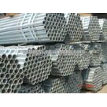 ASTM Hot Dipped galvanizado Tubo roscado soldado para gasoduto